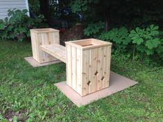 Planter bench | patio & garden furniture | Moncton | Kijiji