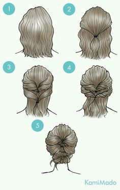 Double Twist And Low Chignon