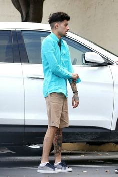 Zayn out in Miami
