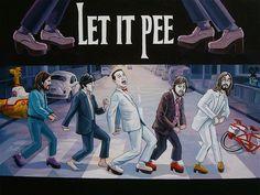 pee wee and the beatles! Pee Wee Herman, Beatles Art, The Beatles, Pee Wee's Playhouse, Paul Reubens, Nostalgia Art, Pop Rock, Abbey Road, Walk This Way
