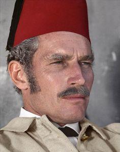 Charlton Heston as Gordon in KHARTOUM