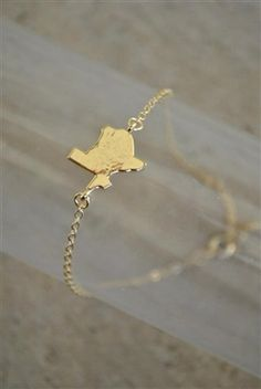 Roots Bracelet - Texas - $24/Bracelet with Texas charm. Available in gold and silver.