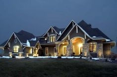 House Plan 92351 | Craftsman Plan with 3651 Sq. Ft., 5 Bedrooms, 4 Bathrooms, 3 Car Garage at family home plans