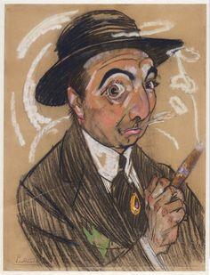 Leo Gestel (1881-1941) : Self-Portrait, January 1915