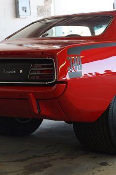 'Cuda 340 emblem