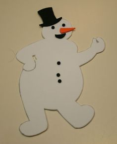 Oswald Johnny Snowman Craft
