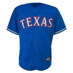 Majestic Men's Texas Rangers Yu Darvish Replica Jersey