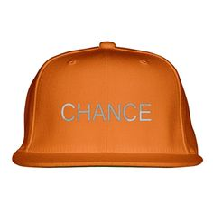 Chance The Rapper Embroidered Snapback Hat