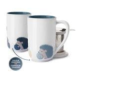 Hedgehog colour changing nordic mug - DAVIDsTEA Autumn 2015 (*grabby hands*) Hedgehog Colors, Davids Tea, Things I Need To Buy, Hedgehogs, Loose Leaf Tea, Herbal Tea, Tea Mugs, Color Change, Tea Party