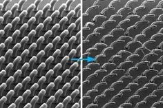 A new way to make microstructured surfaces