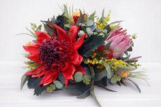 Flower Arrangement  Australian Native Table by bloomroomdesigns, $140.00