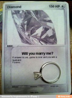 Gamers' proposal.      Some one show this to my boyfriend!!!!!!