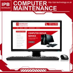 IPB technology offers PC Maintenance services for business, home user. We can fix Pc's in record time, upgrades, motherboards, memory, data recovery and more… Let IPB Technology take care of all of your PC repair and maintenance. For more information about our PC repair Service visit our official webpage at http://www.ipb-technology.co.uk/computer-repair-in-london/ #computermaintenance #ITsupport #computerrepairservice