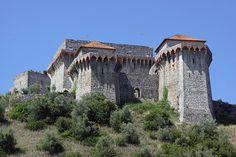 Castelo de Ourém, OURÉM - SANTARÉM - PORTUGAL Portugal Country, Spain And Portugal, Medieval Fortress, Medieval Castle, Castle Ruins, Castle House, Beautiful Castles, Beautiful World, Travel Around The World