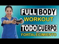 FULL BODY Workout para Adultos Mayores (fortalecimiento de todo el cuerpo) | 1 hora - YouTube Qigong, Trx, Workout, Menopause, Full Body, Pilates, Physical Therapy, Mariana, Shape