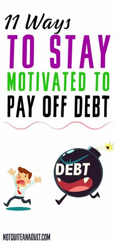 You have made the decision to tackle your debt and pay it off. Good for you!Now come the obstacles you must face, among them the possibility that your motivation might be running low, making it difficult to keep going.Do not give up hope. I am here to help you stay on target and get you through this. Below I listed 11 tips on how to keep yourself motivated when it really gets tough. Head In The Sand, Paying Off Student Loans, Social Media Detox, Tough Love, Practice Gratitude, Get Out Of Debt, Writing Advice, Debt Payoff, Make More Money