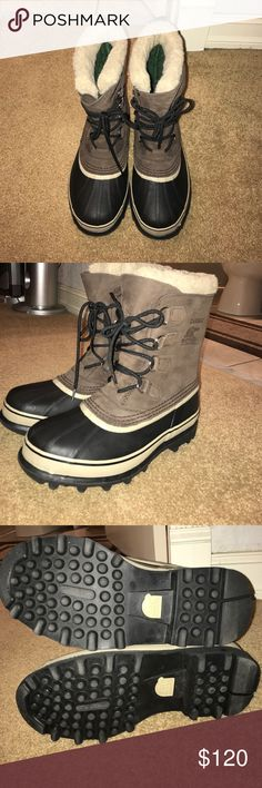 NWOT Sorel Caribou snow boots! NWOT Sorel Caribou snow boots! Hand crafted natural rubber, acrylic/wool blend snow cuff, removable Thermoplus fleece lining, and waterproof suede leather! Sorel Shoes Rain & Snow Boots