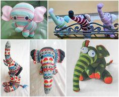 слоники из носков