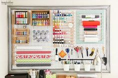 Pegboard Organization Pegboard Organization Organization Ideas And
