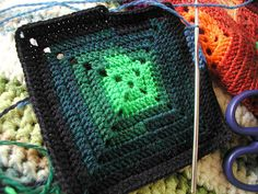 i love these full granny squares they are becoming my favorite to make