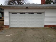 Steel Recessed Panel Carriage House Garage Door