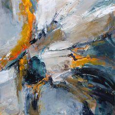 Chuck Gumpert, Split Second, abstract painting