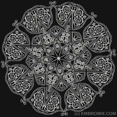 Arabesque Pattern 17