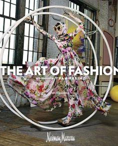 Xiao Wen Ju by Yvan Fabing for Neiman Marcus' spring 2016 'Art of Fashion' campaign