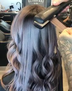 87 unique ombre hair color ideas to rock in 2018 - Hairstyles Trends Curls For Long Hair, Easy Hairstyles For Long Hair, Curled Hairstyles, Curl Long Hair, Long Curled Hair, Curly Hair, Curling Iron Hairstyles, Hair Curling Tips, Curl Hair With Straightener