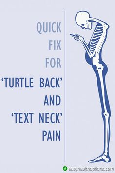 """When I see people with forward-rounded shoulders it's usually a sign of two posture problems: first rounded upper back commonly called """"turtle back"""" and a forward leading head posture now commonly called """"text neck."""" These 3 simple maneuvers can save Posture Correction Exercises, Posture Exercises, Back Pain Exercises, Forward Head Posture Correction, Upper Back Stretches, Sciatica Stretches, Upper Back Pain, Yoga For Back Pain, Neck And Shoulder Pain"""
