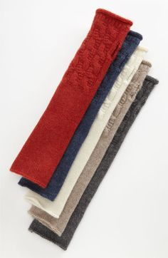Cashmere armwarmers, Nordstrom
