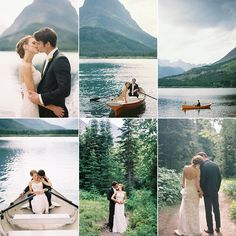 bethany & adam ~ glacier national park ~ montana wedding photographer » Birdsong Photography