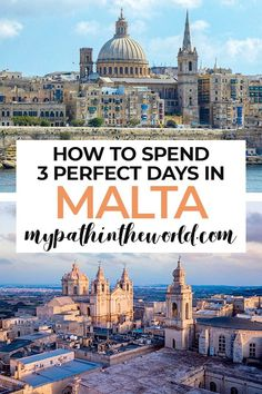 Looking for the best things to do in Malta in 3 days without hiring a car? Here's an awesome Malta travel itinerary that will blow your mind!