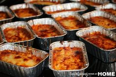 Lazy Lasagna Individual Servings THM