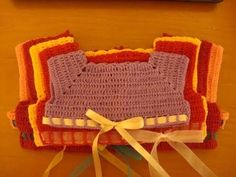 Canesu en crochet,todas las tallas. - YouTube