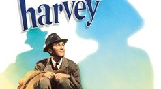 Harvey is a white rabbit, six feet, three and a half inches tall. What's so unusual about a very tall, white rabbit? Only Elwood Dowd (Jimmy Stewart) can see him. Elwood is a middle-aged, single man who lives with his widowed sister, Veta (Josephine Hull, who won an Oscar for the role), and her twenty-something daughter, Myrtle Mae. Elwood's a very happy guy who doesn't notice anything unusual with having a tall, white, invisible rabbit as a companion...