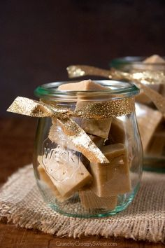 PB fudge  Peanut Butter Fudge Recipe from @Anna | Crunchy Creamy Sweet