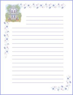 View album on Yandex. Free Printable Stationery, Printable Paper, Creative Writing Classes, Daily Planner Pages, Cute Stationary, Pretty Backgrounds, Borders For Paper, Stationery Paper, Paper Models