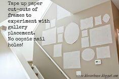 Diy Crafts Ideas guide to gallery walls -Read More –