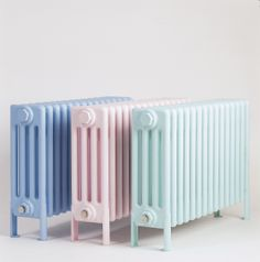 Pastel Blue Classic (pictured left), www.bisque.co.uk