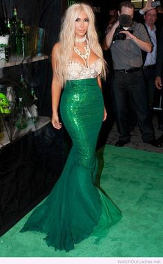 Kim Kardashian's mermaid costume
