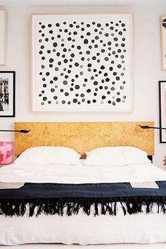 DIY bedroom art ideas.