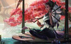 ArtStation - Traditional karma splash art for ROIT, xi zhang