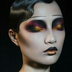 With the right face makeup, you can appear as anything or anyone you want to. But, of course, Halloween makeup is different from your daily makeup routine. Therefore, makeup for Halloween may be mo… Makeup Inspo, Makeup Art, Makeup Inspiration, Beauty Makeup, Eye Makeup, Fairy Makeup, Mermaid Makeup, Makeup Ideas, Geisha Makeup
