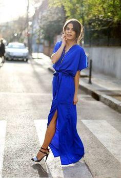 #Azul longo, dia.