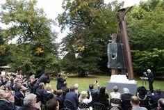 Britain's 9/11 memorial sculpture languishes in London warehouse