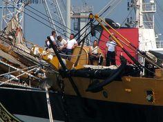 Amerigo Vespucci, July 2009