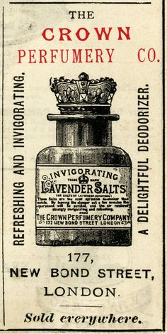 Vintage Labels crown perfumery co, lavender salts illustration, junk journal printable, vintage perfume clip art, black and white graphics Vintage Diy, Pub Vintage, Images Vintage, Vintage Maps, Vintage Labels, Vintage Ephemera, Vintage Pictures, Vintage Prints, Printable Vintage