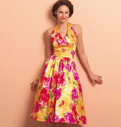 """this is actually a """"Vintage"""" Butterick pattern but I just HAD to pin it in """"Spring Fashion"""""""