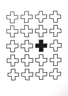 cross kaart simpel